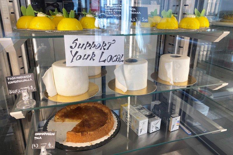 Roti 'tisu toilet' membuat toko ini kebanjiran pesanan