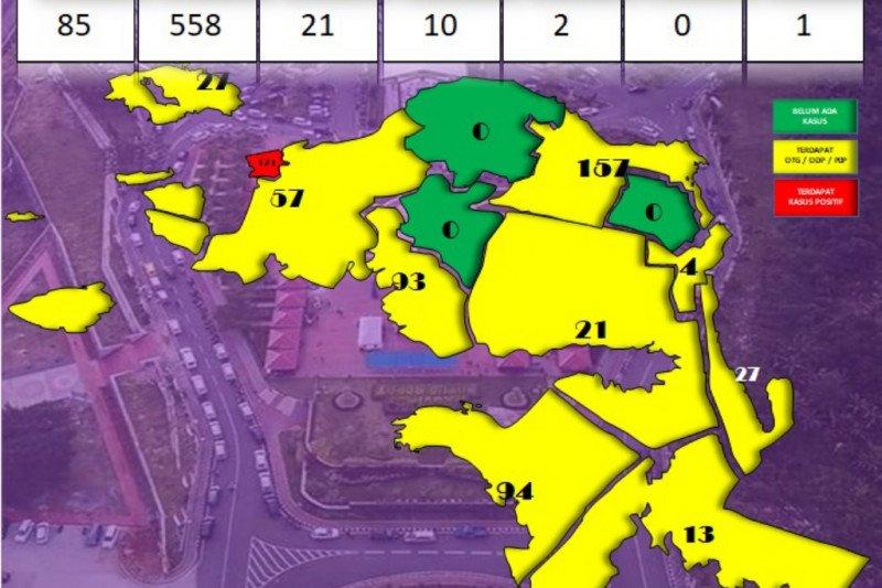 Tiga daerah di Papua Barat zona hijau dari COVID-19