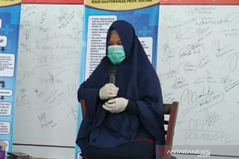 Cerita Fitri Amaliah, pasien pertama bisa sembuh dari COVID-19 di Kendari