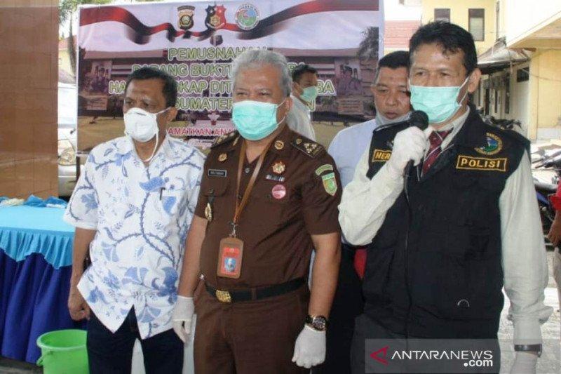 Kejati Sumatera Selatan dukung polisi miskinkan pelaku narkoba
