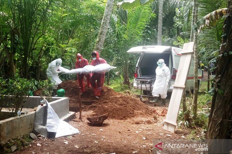 Kasus COVID-19 di Lampung sudah capai 19.351, yang meninggal 1.084 orang