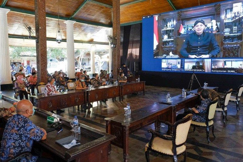 Semen Indonesia prakarsai pendirian perusahaan patungan dengan BUMDes Rembang