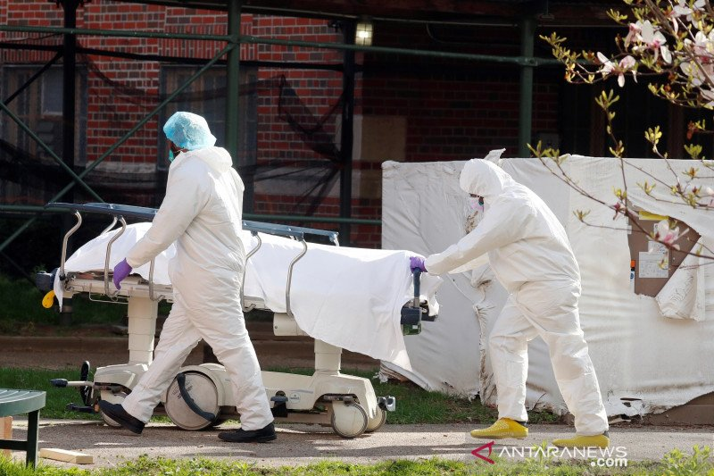 Kematian akibat COVID-19 di Amerika Serikat lewati angka 16.000