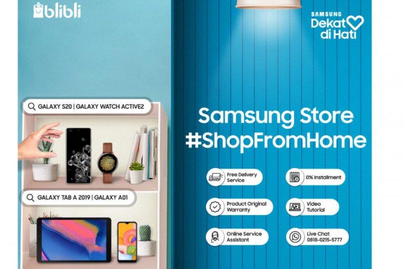 Samsung dan Blibli hadirkan layanan belanja dari rumah