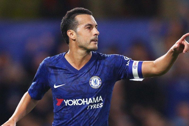 Kontrak pemain sayap Pedro Rodriguez segera habis di Chelsea