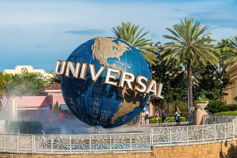 Taman bermain Universal Studios ditutup