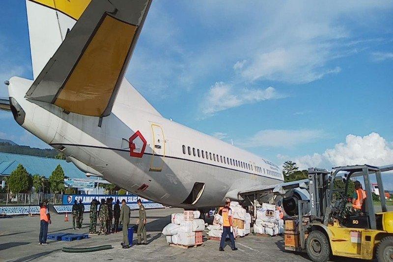 TNI AU kerahkan pesawat angkut APD dan masker di Papua