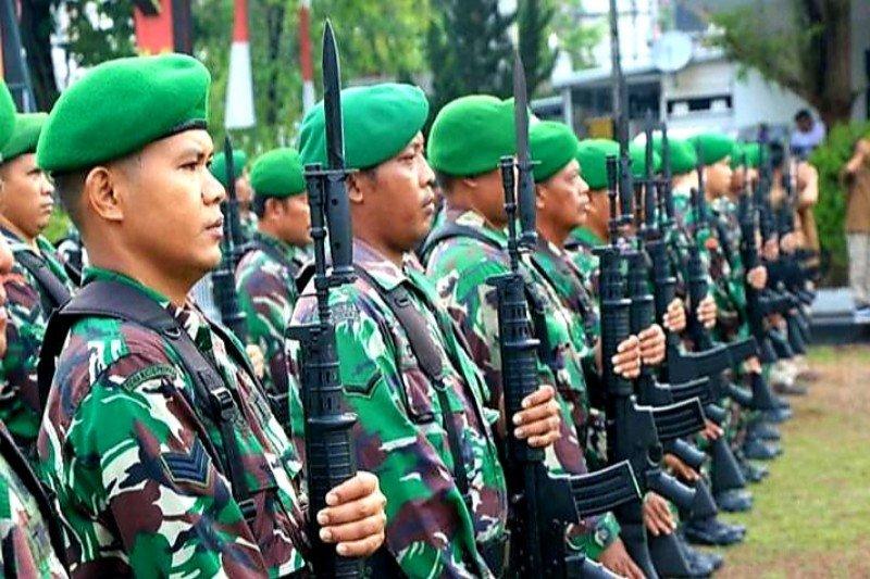 Seleksi prajurit TNI AD di Palangka Raya dipastikan sesuai prosedur kesehatan