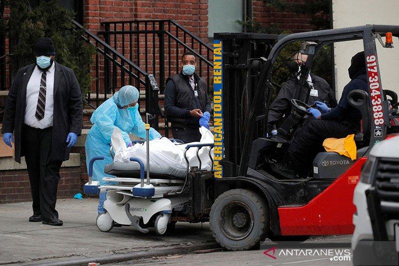 Ratusan jasad ditemukan di truk tanpa pendingin di New York
