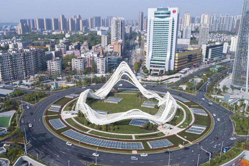 Kota Wuhan tak lagi mencekam