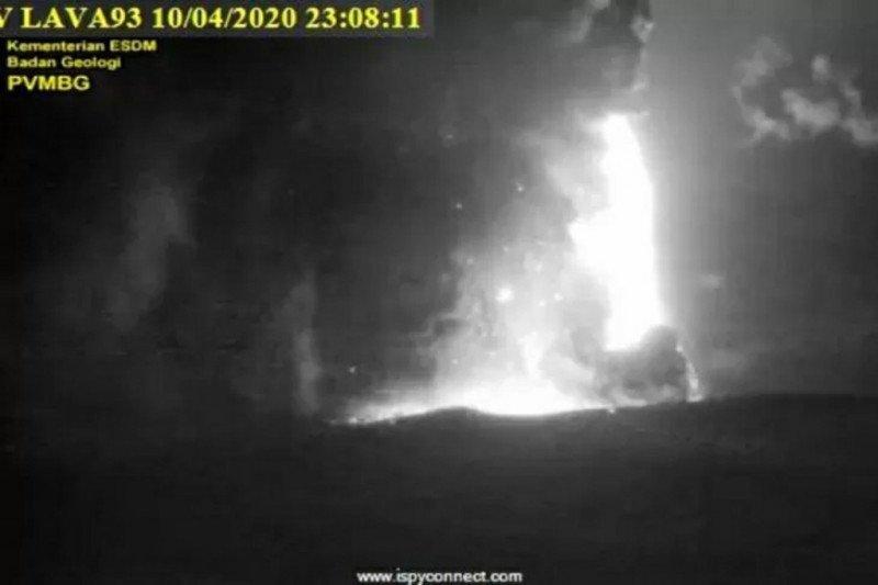 Masih misteri suara dentuman saat Anak Krakatau meletus