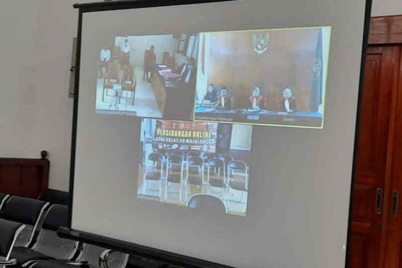 PN Majalengka gelar sidang pidana lewat video conference