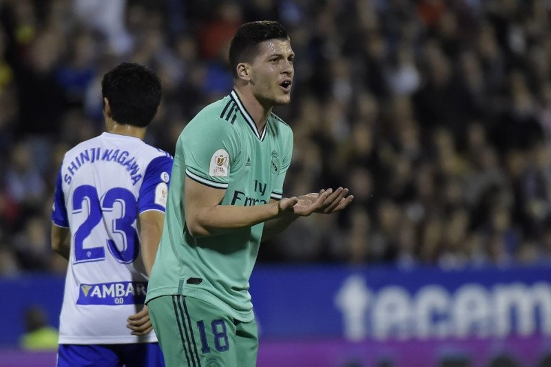 Arteta tertarik datangkan Luka Jovic untuk ganti Aubameyang