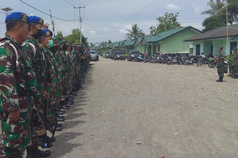 Dandim Mimika Letkol Pio Nainggolan peringatkan prajurit TNI tanggalkan ego pribadi