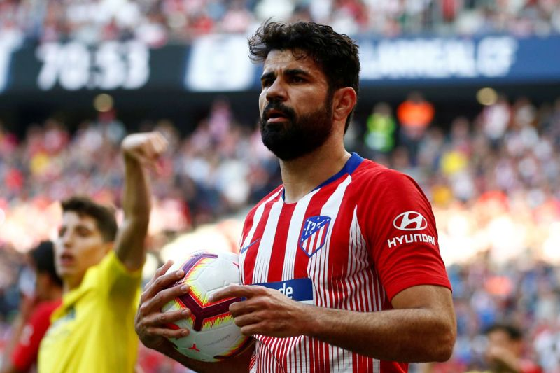 Diego Costa diincar AS Roma dan Napoli