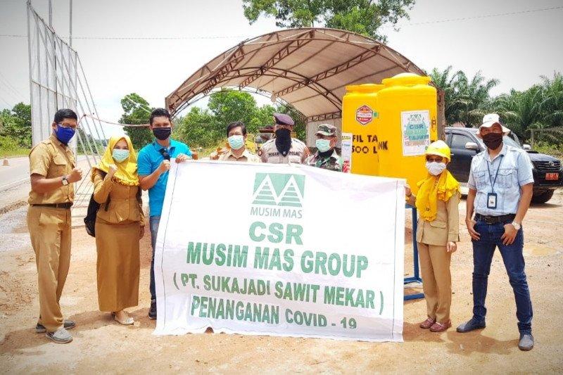 Musim Mas Group bantu semua desa sekitar perusahaan cegah COVID-19