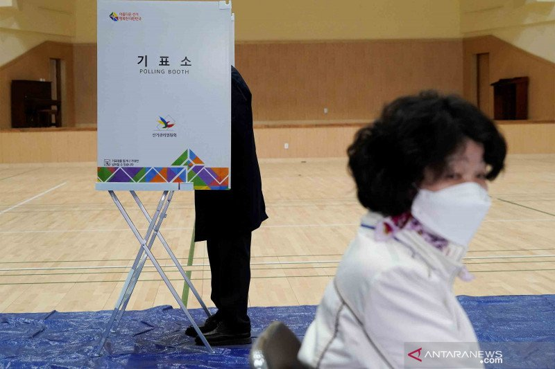 Pemilu Korsel catat partisipasi tertinggi