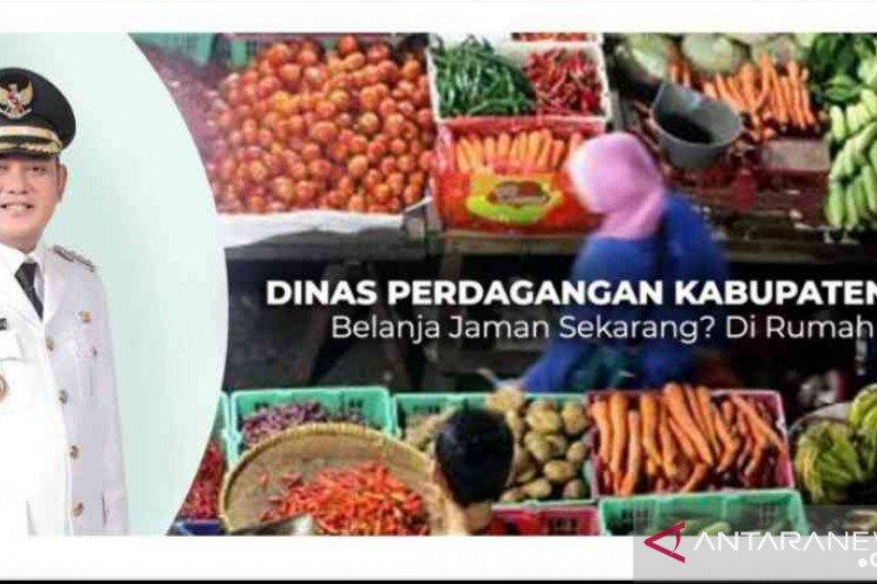 12 pasar tradisional Kabupaten Bekasi layani secara daring