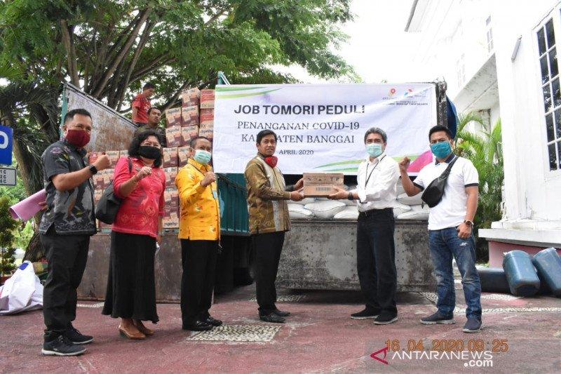 JOB Tomori salurkan sembako untuk masyarakat Banggai