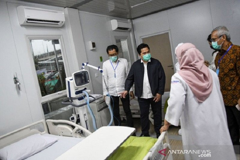 Menteri BUMN Erick Thohir: Indonesia harus punya blueprint strategi ketahanan kesehatan