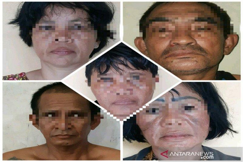 Polisi ringkus komplotan aksi gendam, tiga di antaranya wanita