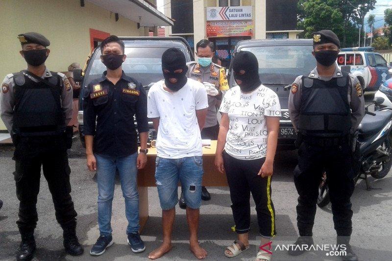Petugas tangkap pasutri pelaku pencurian mobil