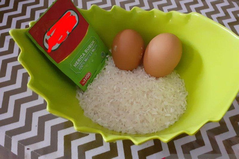 Bubur putih telur, diet untuk pasien COVID-19