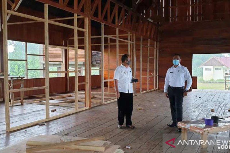 """""""Homestay"""" jadi tempat isolasi warga di Mentawai"""