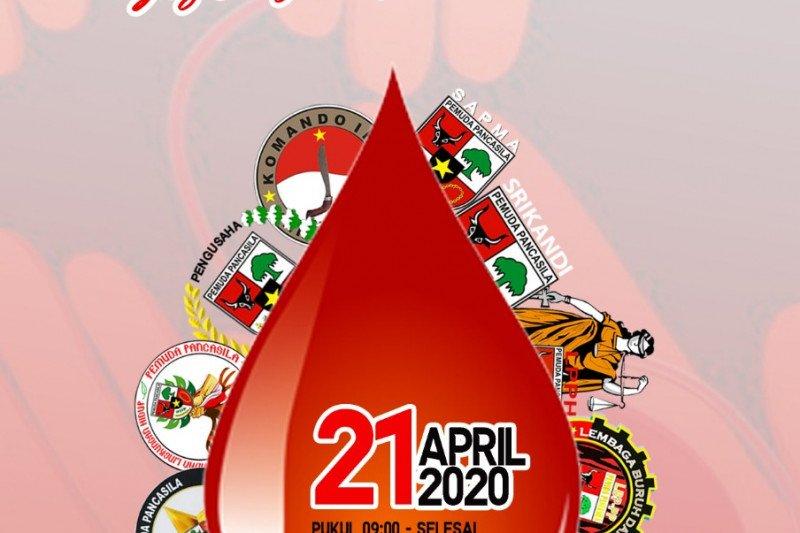 MPW Pemuda Pancasila Sulsel gelar donor darah peringati Hari Kartini