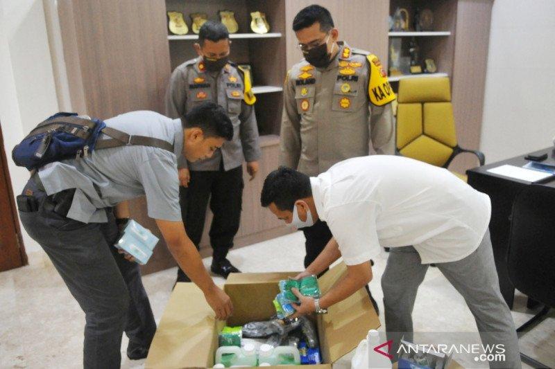 Polres Bogor dapat suplai 2.000 alat tes cepat COVID-19