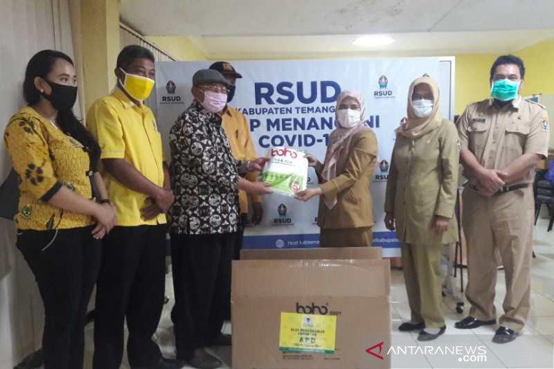 Golkar Temanggung bantu APD ke sejumlah rumah sakit