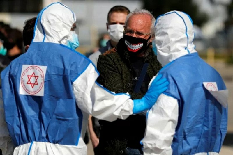 Israel tutup lab uji COVID-19 lantaran salah diagnosis