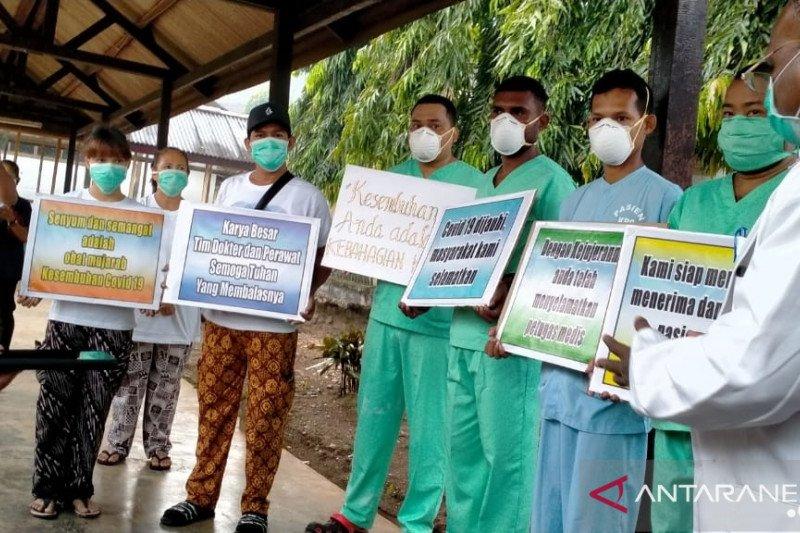 Tujuh pasien positif COVID-19 di Jayapura sembuh