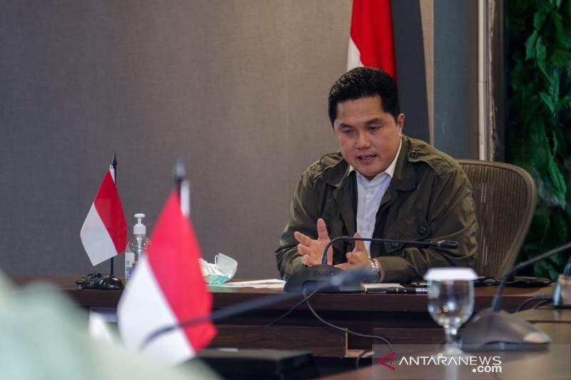 Erick Thohir perintahkan BUMN bantu pengamanan kesehatan nasional
