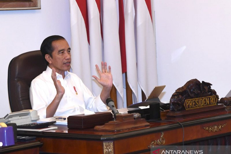 """President Jokowi bans """"mudik"""" for citizens to contain COVID-19 spread"""
