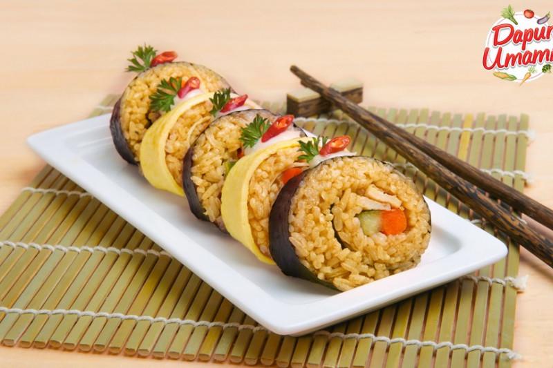 Resep nasi goreng sushi, silakan coba selama WFH