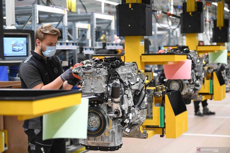Saham Jerman terkoreksi lagi, indeks DAX 30 menyusut 0,04 persen