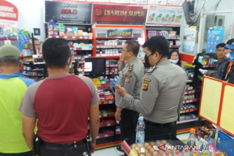 Perampok minimarket di Pamijahan Bogor masih berkeliaran