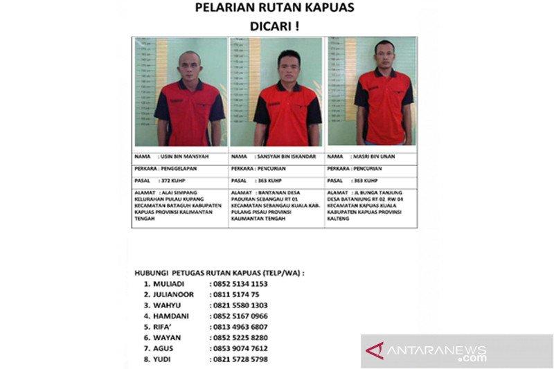 Rutan Kapuas enggan beberkan tiga tahanan kabur