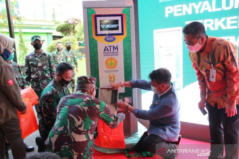 Mentan luncurkan ATM beras bantu pangan warga terdampak PSBB Jabodetabek