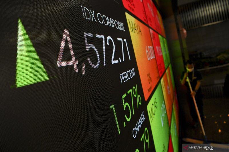 IHSG menguat saat pelemahan bursa saham kawasan