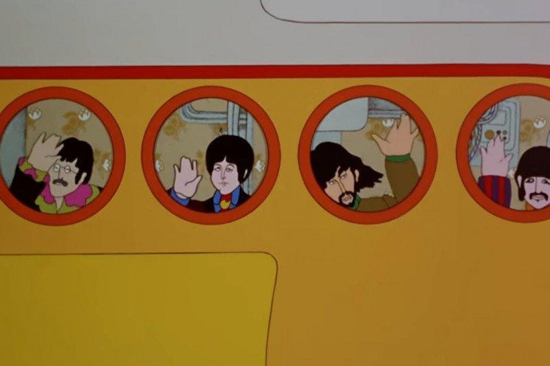 """The Beatles """"Yellow Submarine"""" disiarkan gratis di YouTube"""