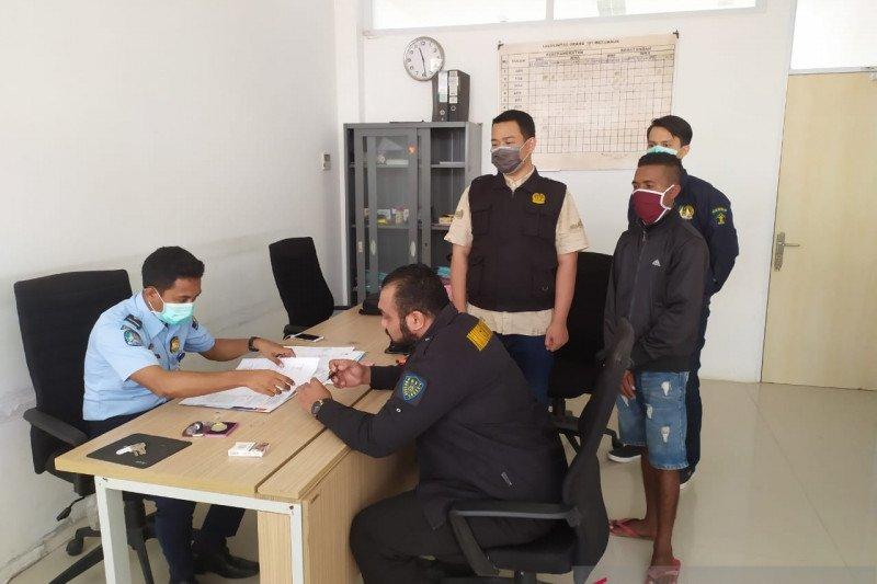 Polisi  amankan  WN Timor Leste yang masuk tanpa paspor