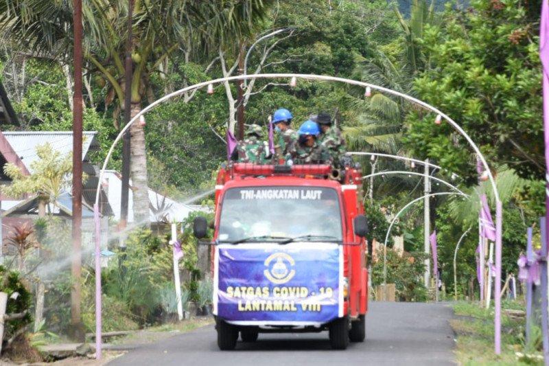 Sebaran 18 positif COVID di Kabupaten Minahasa