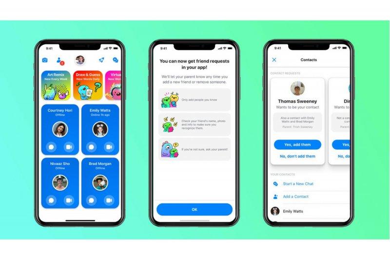 Di Indonesia, Facebook luncurkan Messenger Kids