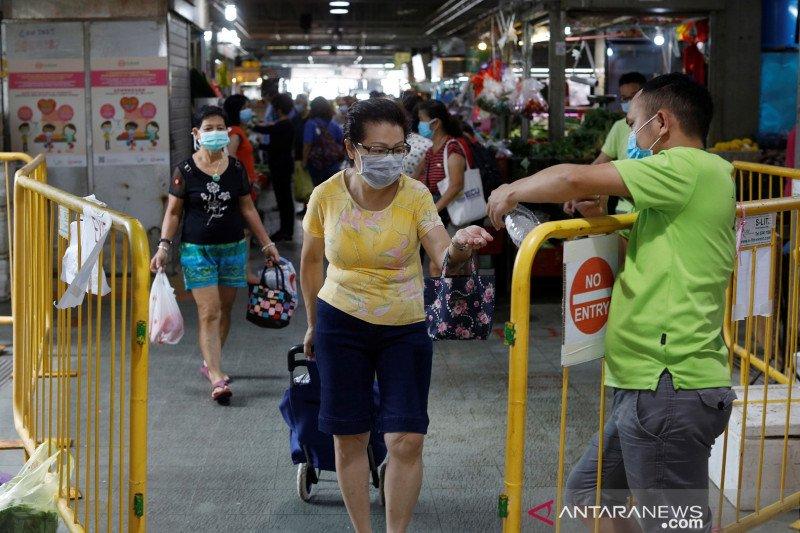 Singapura laporkan 931 kasus baru virus corona, total jadi 13.624