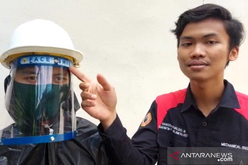Mahasiswa ULM berhasil ciptakan pelindung wajah bagi tim medis