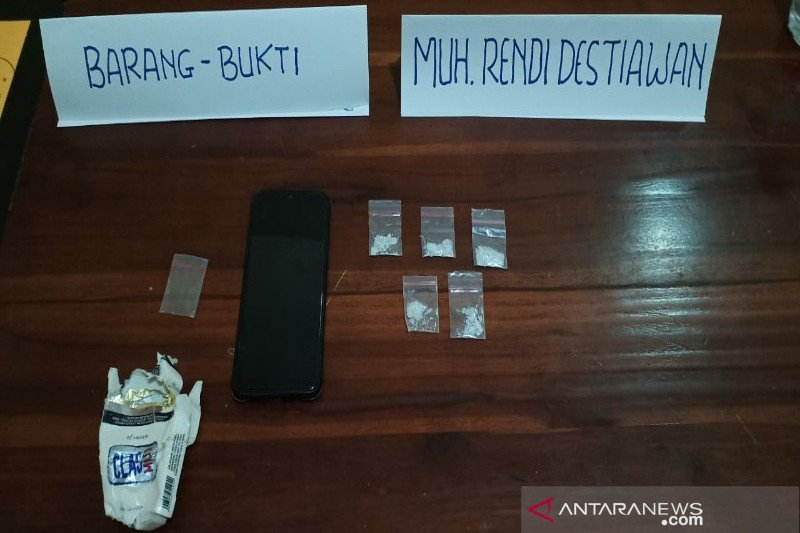 Polisi menangkap pengedar narkoba diduga jaringan Lapas Kendari