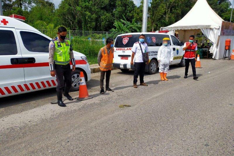 Penyekatan beberapa ruas Jalan Tol Trans Sumatera mulai Jumat ini