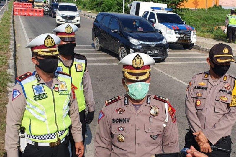 Malam ini hingga besok, polisi tutup  sejumlah ruas jalan di Medan